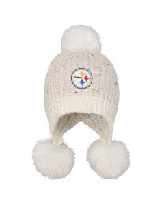 Pittsburgh Steelers Girls' Mini Cuff Knit Hat