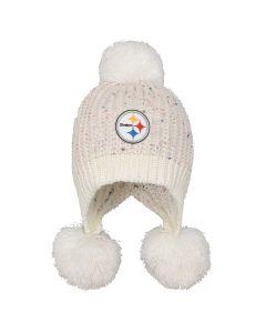 Pittsburgh Steelers Girls' Mini Cuff Knit Hat