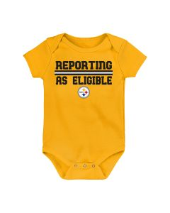 Pittsburgh Steelers Newborn Boys' Reporting as Eligible Creeper