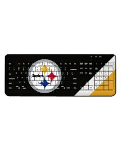 Pittsburgh Steelers Stripe Wireless Keyboard