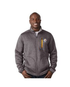 Pittsburgh Steelers Fast Track Sherpa Mediumweight Jacket - Extended Sizes