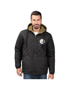 Pittsburgh Steelers Men's Change Up Polyfill Reversible Jacket