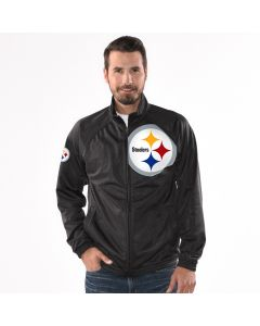 Pittsburgh Steelers Men's Synergy Track Jacket