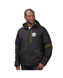 Pittsburgh Steelers Men's Storm Polyfill Hooded Parka