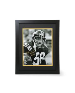 Pittsburgh Steelers #58 Jack Lambert Signed Framed 11x14 Photo