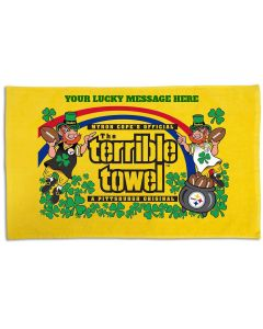 Pittsburgh Steelers Custom Leprechaun Terrible Towel