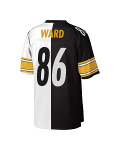 Hines Ward #86 Mitchell & Ness Men's Replica/Limited Split Jersey