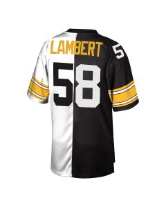 Jack Lambert #58 Mitchell & Ness Men's Replica Limited Split Jersey