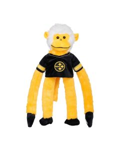 Pittsburgh Steelers Plush Color Rush Monkey