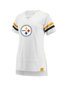 Pittsburgh Steelers Women's Athena Icon Short Sleeve Tee