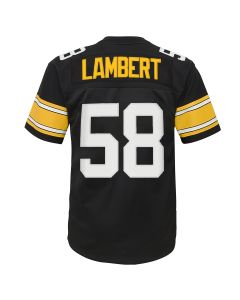 Jack Lambert #58 Youth Mitchell & Ness Limited Home 1976 Jersey