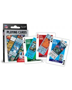 Pittsburgh Steelers Super Bowl Tickets Playing Cards