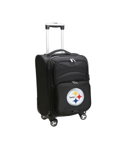 """Pittsburgh Steelers 21"""" Carry-On Spinner Softside"""