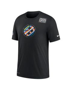 Pittsburgh Steelers Men's Nike Multi Logo Crucial Catch Short Sleeve T-Shirt