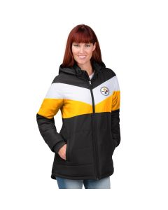 Pittsburgh Steelers Women's Touchdown Heavyweight Parka Jacket