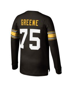 #75 Joe Greene Mitchell & Ness Long Sleeve Player Top