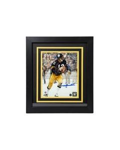 Pittsburgh Steelers #12 Terry Bradshaw Snow Signed Framed 8x10 Photo