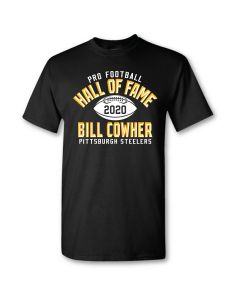 Pittsburgh Steelers Hall of Fame Bill Cowher Short Sleeve T-Shirt