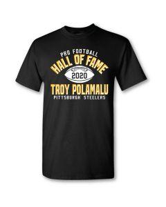 Pittsburgh Steelers Hall of Fame Troy Polamalu Short Sleeve T-Shirt