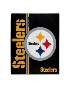 Pittsburgh Steelers 50x60 in. Restructure Raschel Throw