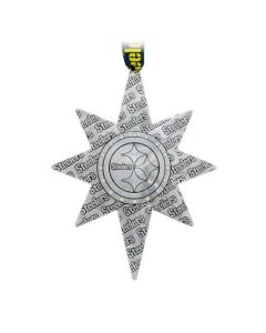 Pittsburgh Steelers Wendell August Forge 2021 Aluminum Collector's Ornament w/ Swarovski Crystals