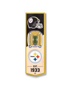 Pittsburgh Steelers 3D Stadium Banner