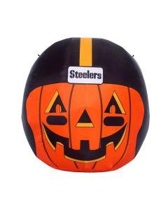 Pittsburgh Steelers Inflatable Pumpkin with Helmet