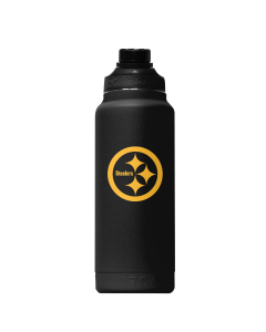 Pittsburgh Steelers 34 oz. ORCA Hydra Color Rush Blackout Water Bottle