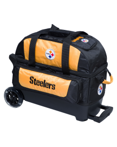 Pittsburgh Steelers Two Ball Roller Bowling Bag