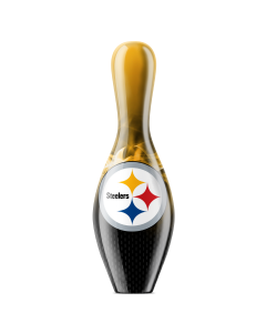 Pittsburgh Steelers On Fire Bowling Pin