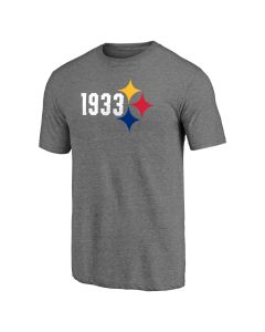 Pittsburgh Steelers 1933 Hypocycloid Short Sleeve T-Shirt