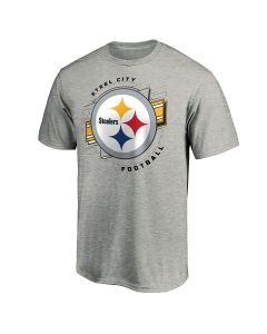 Pittsburgh Steelers Men's Our Colors Short Sleeve T-Shirt