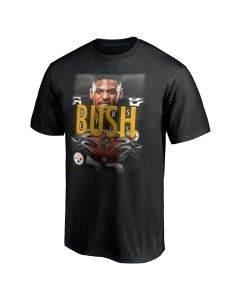 Pittsburgh Steelers #55 Devin Bush 2020 Short Sleeve T-Shirt