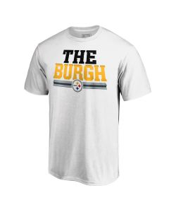 "Pittsburgh Steelers Men's ""The Burgh"" Short Sleeve T-Shirt"