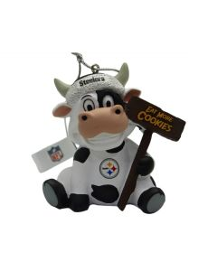 Pittsburgh Steelers Cookie Cow Ornament