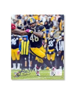 Pittsburgh Steelers #48 Bud Dupree 'Beating the End' Autographed 8x10 Photo