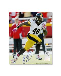 Pittsburgh Steelers #48 Bud Dupree 'On the Road' Autographed 8x10 Photo