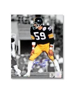 Pittsburgh Steelers #59 Jack Ham 'Super Bowl X' Autographed 8x10 Photo