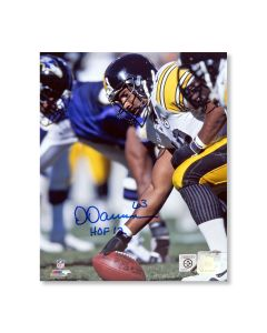 Pittsburgh Steelers #63 Dermontti Dawson 'the Snap' Autographed 8x10 Photo