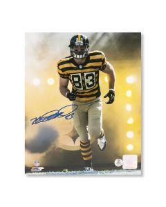 Pittsburgh Steelers #83 Heath Miller 'HEEEATH!!!' Autographed 8x10 Photo