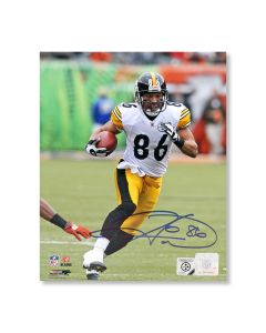 Pittsburgh Steelers #86 Hines Ward 'On the Move!' Autographed 8x10 Photo
