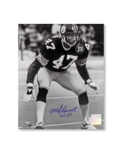 Pittsburgh Steelers #47 Mel Blount 'Hall of Famer Action' Signed 8x10 Photo