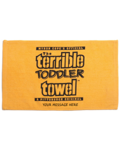 Pittsburgh Steelers Custom Toddler Terrible Towel