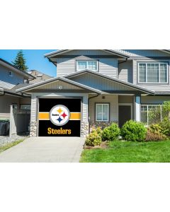 Pittsburgh Steelers Single Garage Door Cover