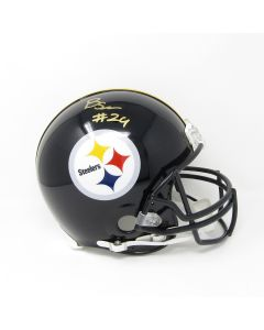 Pittsburgh Steelers #24 Benny Snell Autographed Riddell ProLine Authentic Full Size Helmet