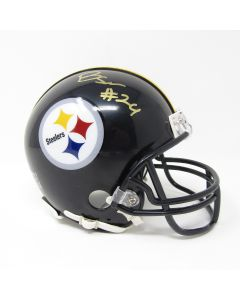 Pittsburgh Steelers #24 Benny Snell Autographed Riddell Mini Helmet
