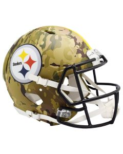 Pittsburgh Steelers Camo Authentic Speed Helmet