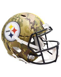 Pittsburgh Steelers Camo Replica Speed Helmet