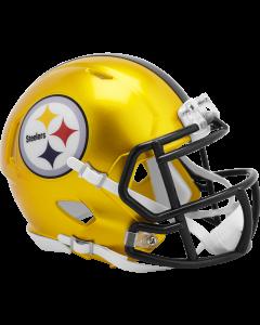Pittsburgh Steelers Flash Gold Speed Mini Helmet
