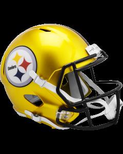 Pittsburgh Steelers Flash Gold Replica Speed Helmet